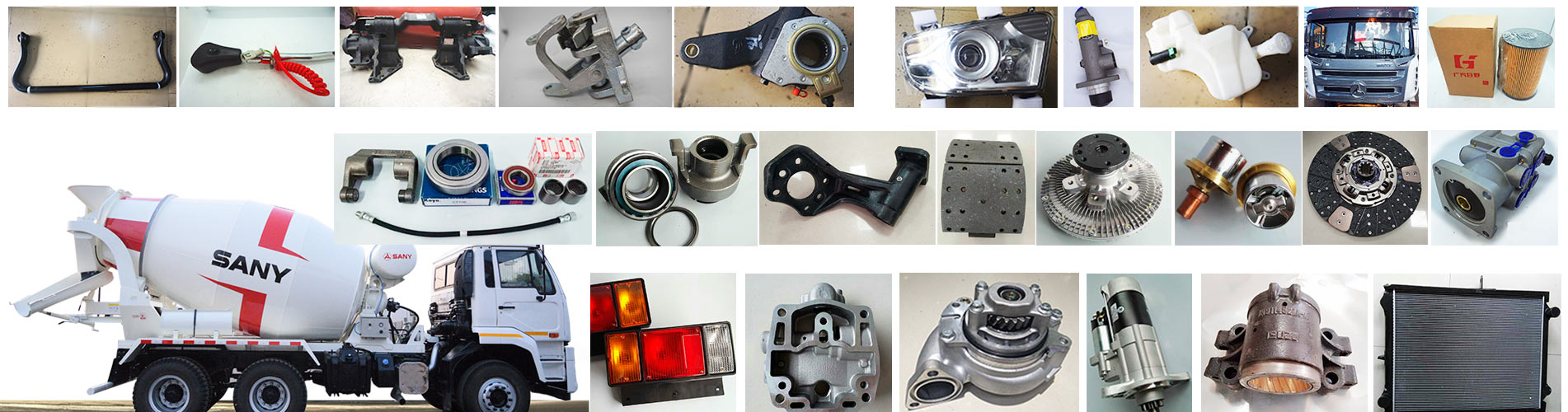 Sany Mixer Truck Parts Manufacturer